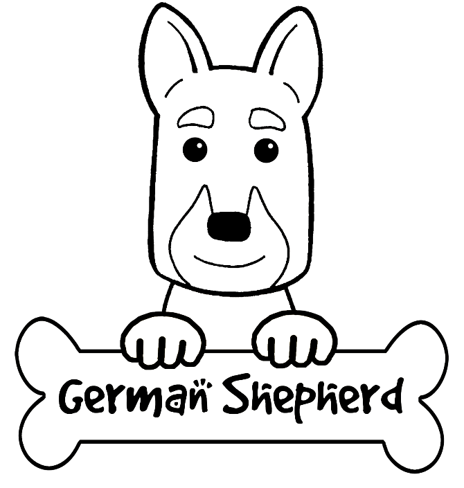 german shepherd puppy drawing at getdrawings com free for personal