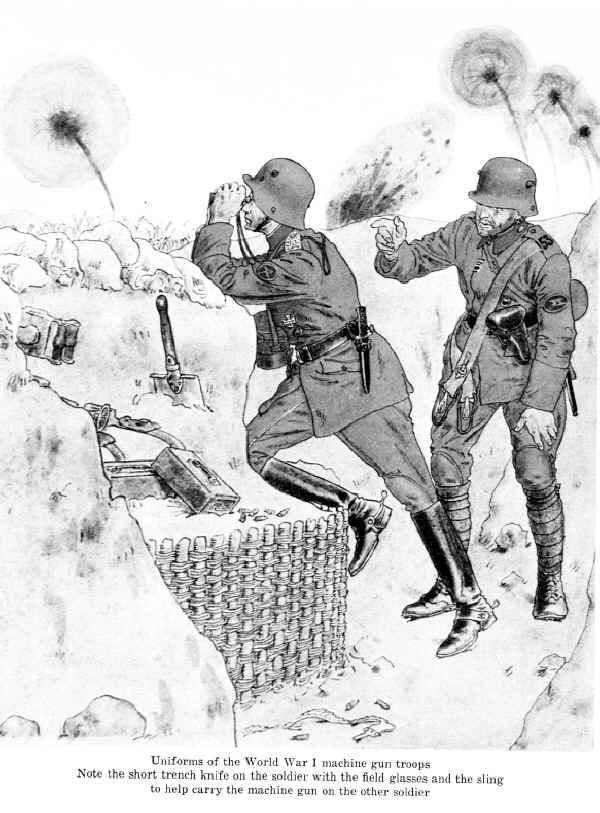 600x813 The German Army 1914 1918 Machine Gunners World War 1 Uniforms