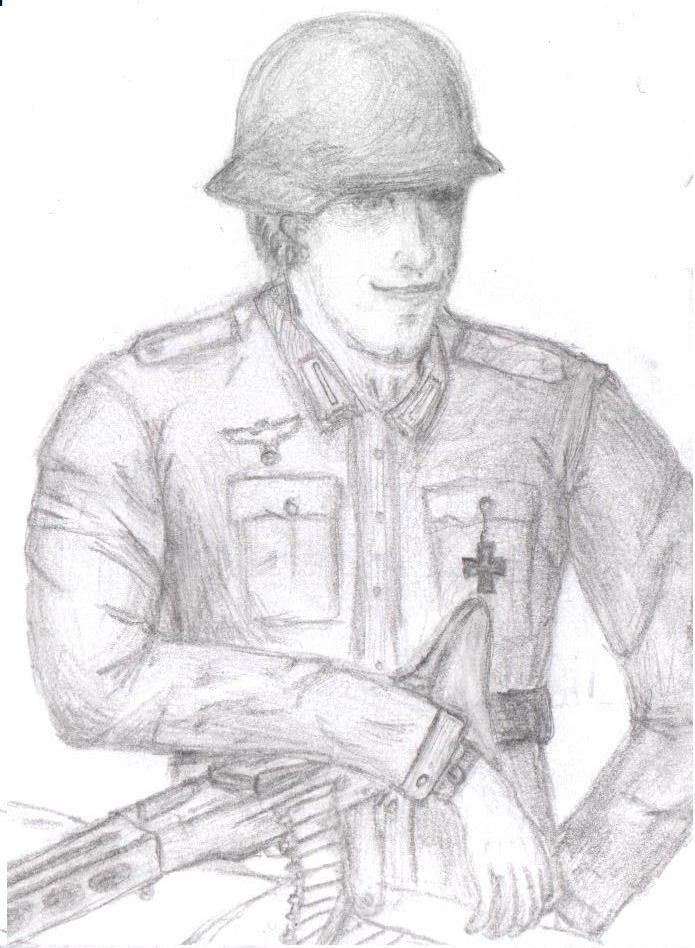 695x948 The Proud German Soldier By Zhihao1