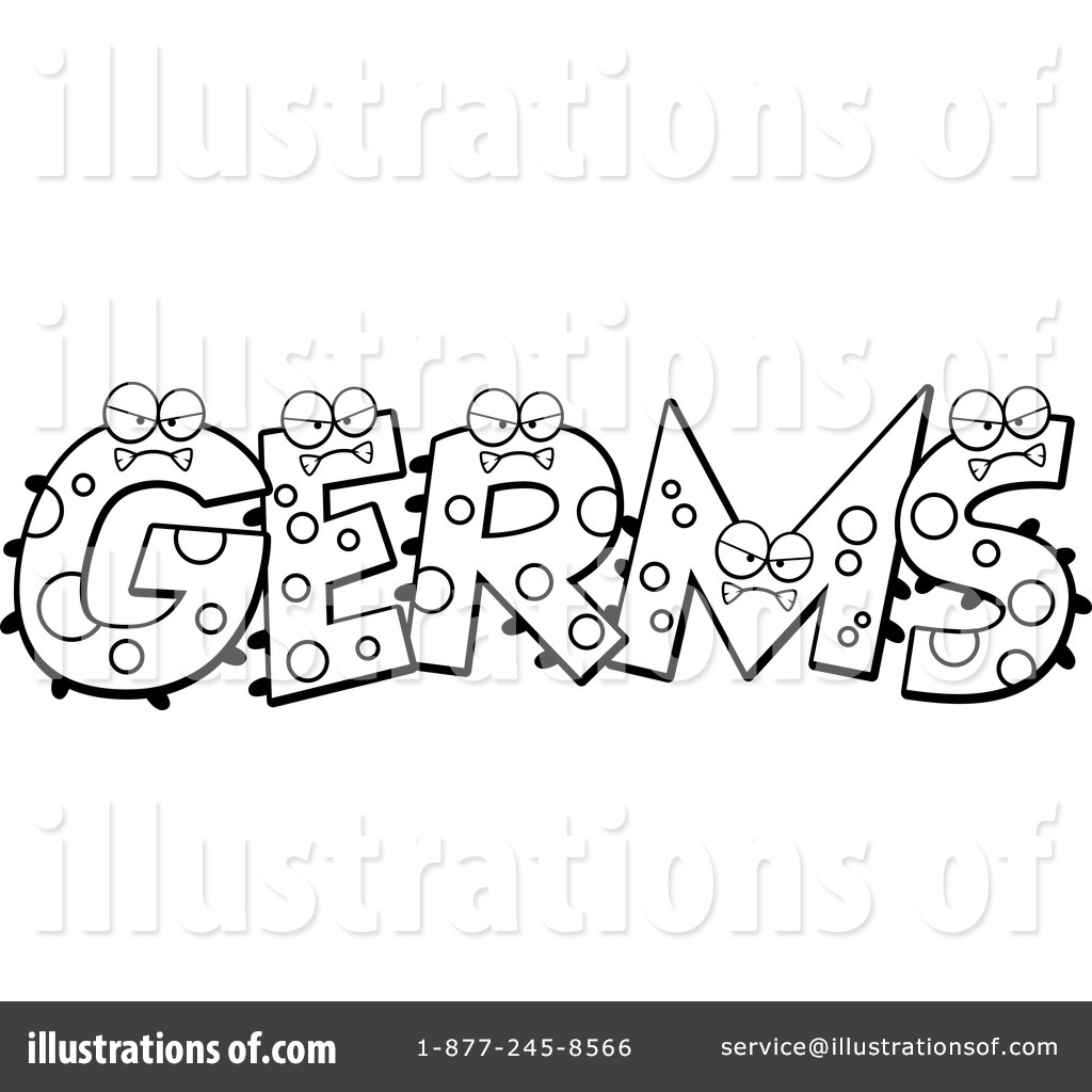 1024x1024 Germs Clipart