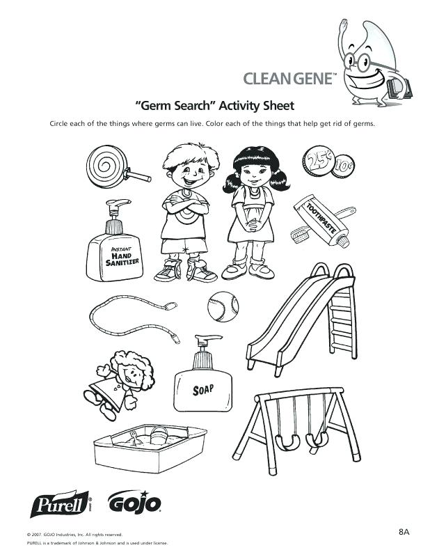 618x800 Germs Coloring Pages Drawn Wallpaper Black Book Free Germs