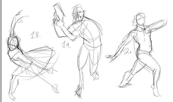 600x353 Gesture Drawing