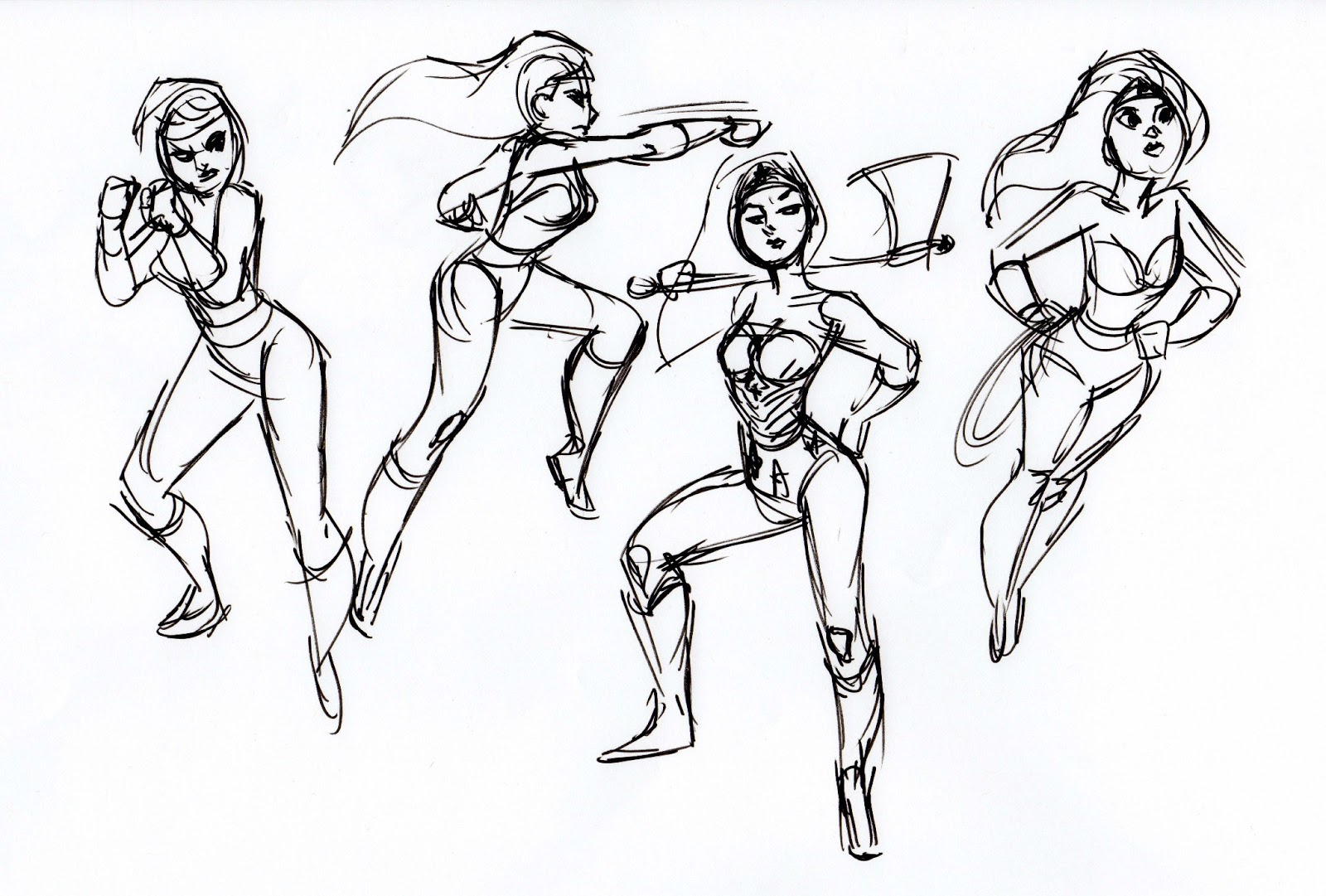 1600x1081 Scotland's Art Blog More Gesture Drawing And Wonder Woman