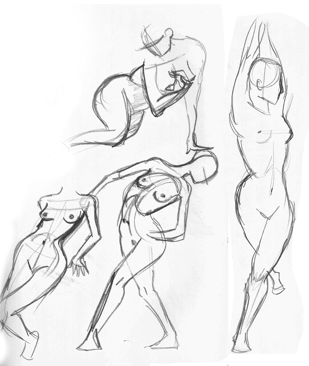 1013x1200 Gesture And Figure Drawing