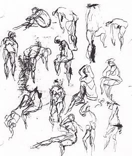 265x312 Human Figure Drawing