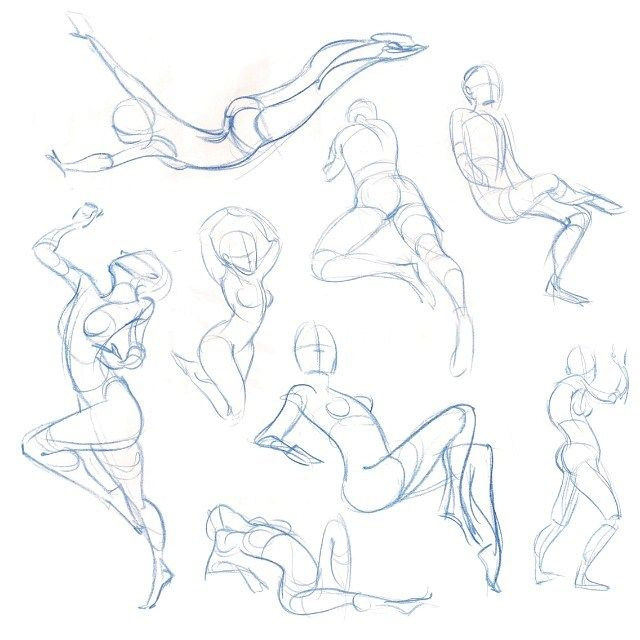 640x640 One Of My Favorite Parts Of Figure Drawing Is Quick Little Gesture