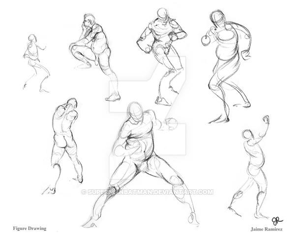 600x480 Figure Drawing 02 By Supermanbatman