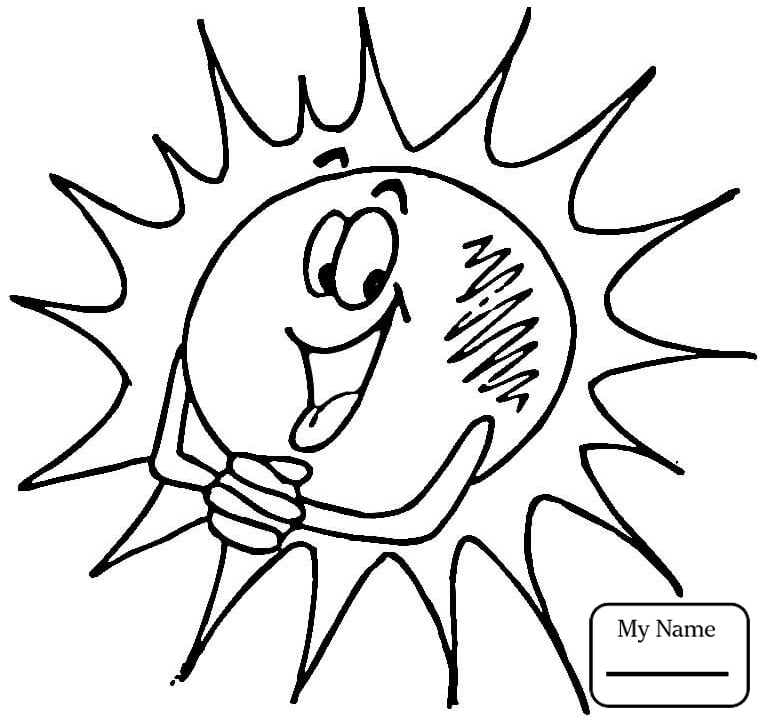 765x723 Coloring Pages Nature Seasons Smiling Sun
