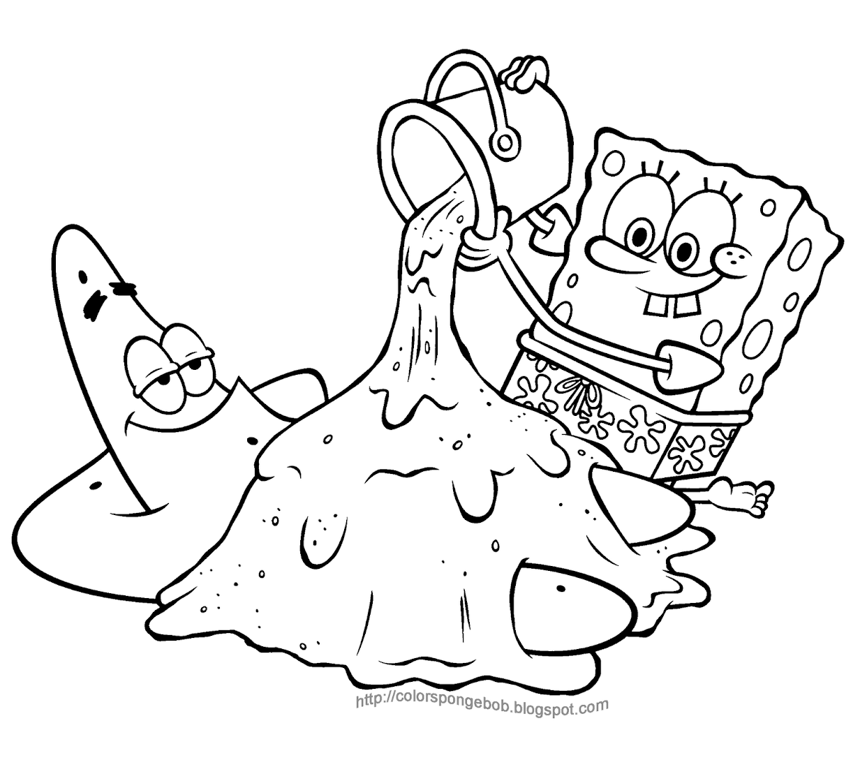 1242x1099 30 Gangster Spongebob Coloring Pages, Gangsta Spongebob Coloring