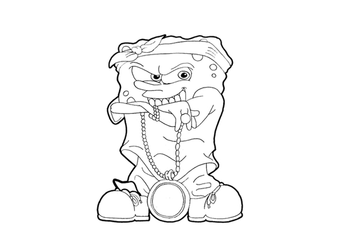 700x500 Ghetto Mario Coloring Pages Gangster Love Coloring Pages
