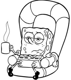 236x266 Spongebob Out Of Water Colouring Pages Spongebob