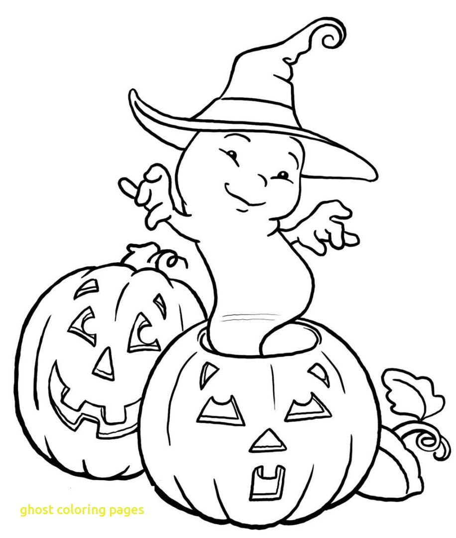 916x1079 Ghost Coloring Pages With Simple Ghost Coloring Page Halloween