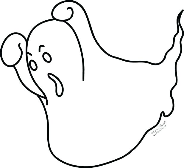 618x562 Ghost Coloring Sheets Ghost Color Pages Little Ghost Coloring