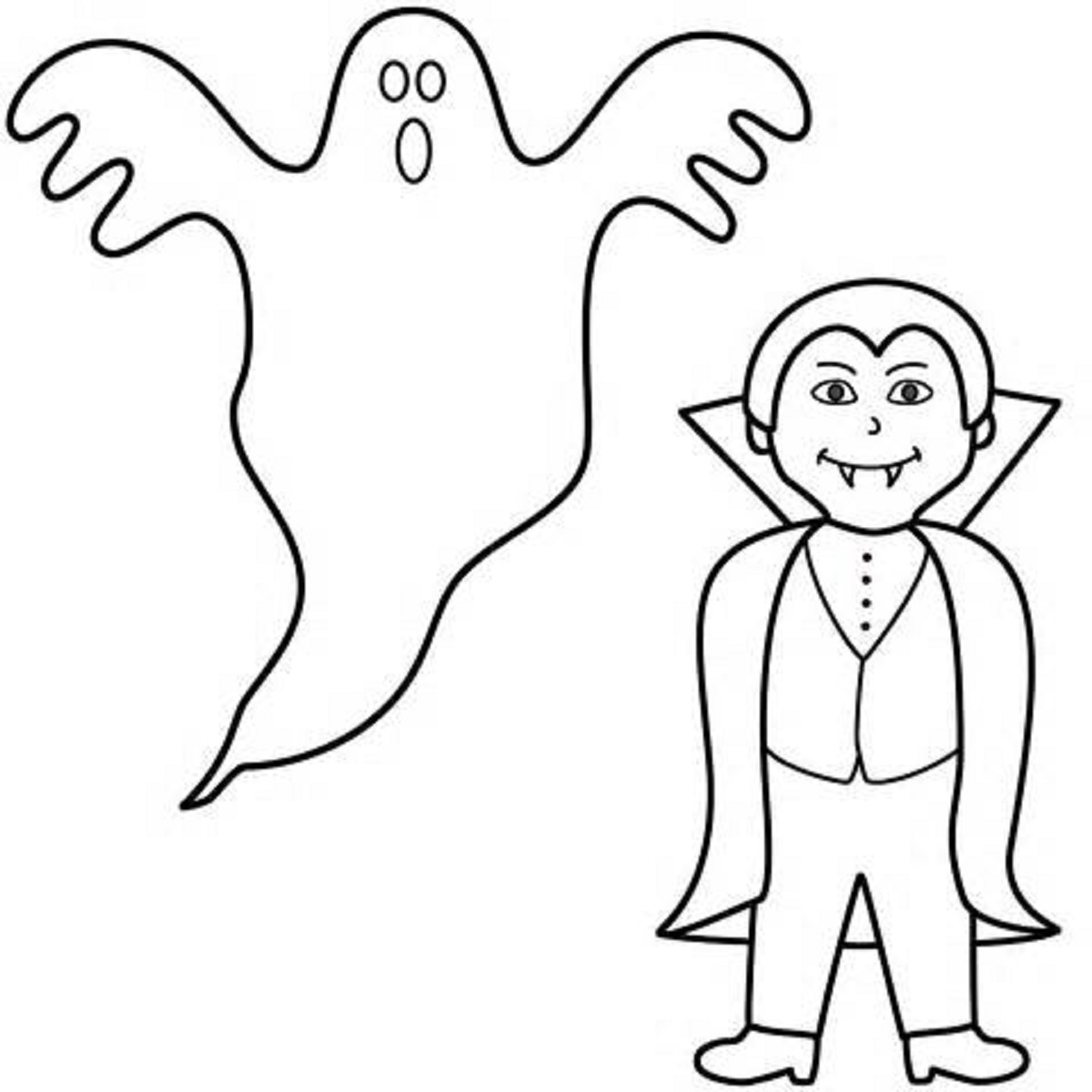 Ghost Drawing For Kids at GetDrawings.com | Free for personal use ...