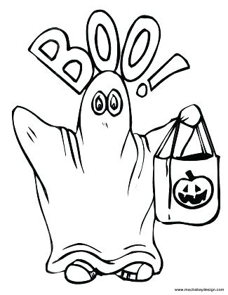 325x420 Ghosts Coloring Pages