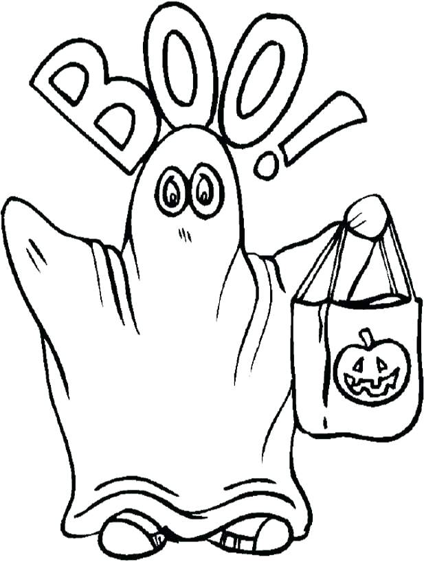 617x818 Best Ghost Coloring Page Free Download Pages Of Ghosts For Kids