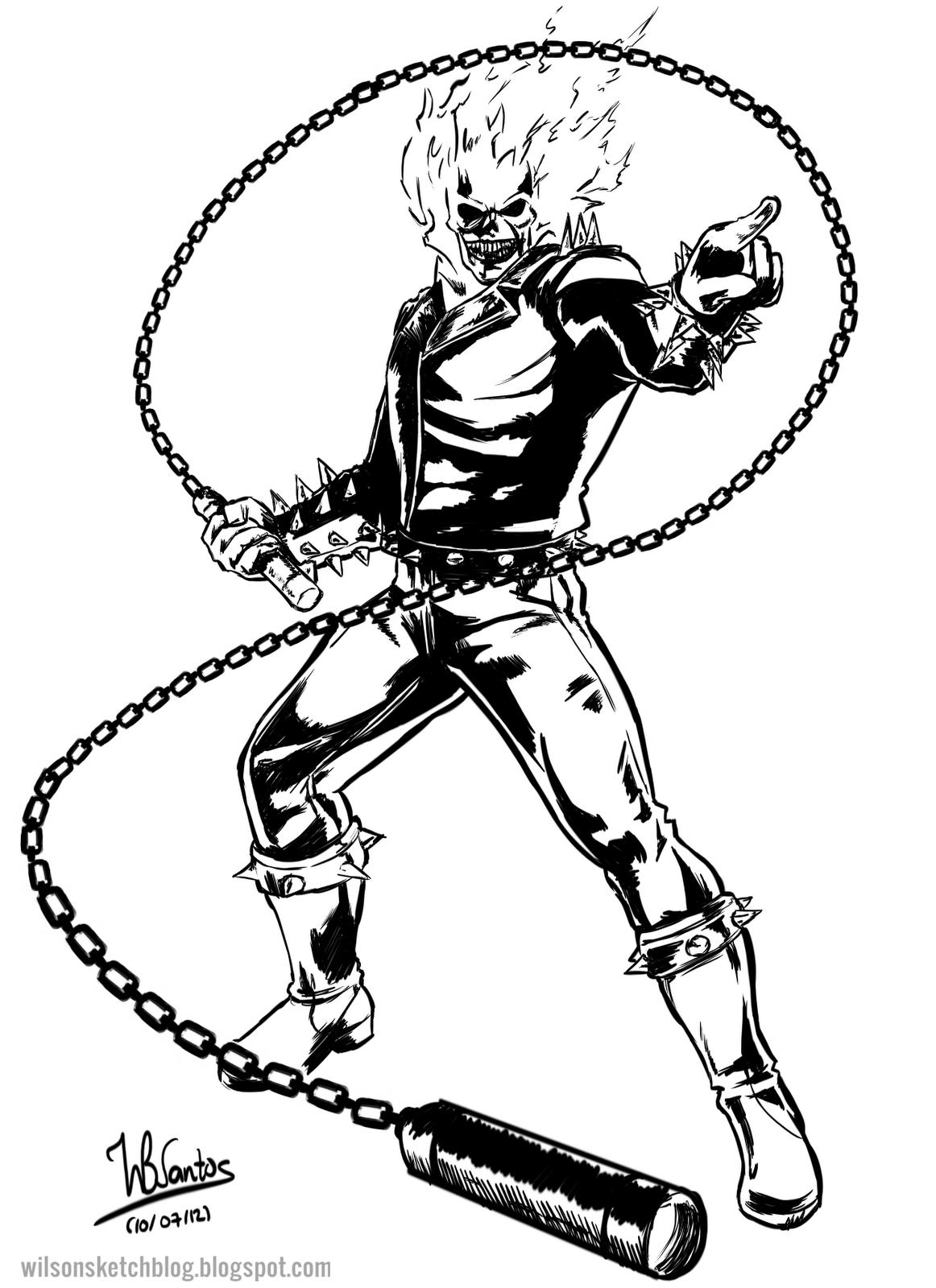 1162x1600 Ghost Rider