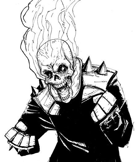 450x524 Ghost Rider