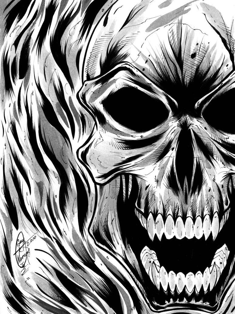 774x1032 Ghost Rider Con Sketch 01 By Osideris