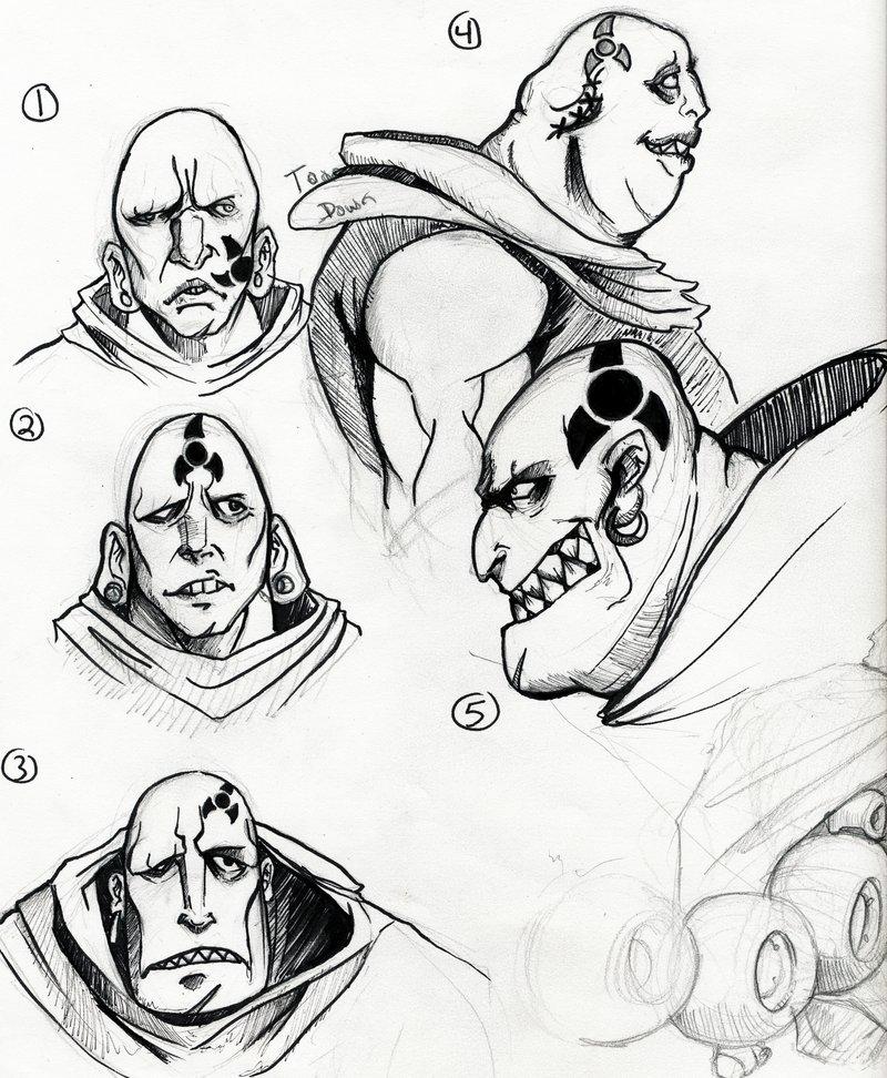 800x972 Faces Of Ghost Scorpion By Darkstye