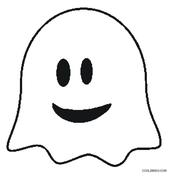 679x700 Ghost Face Template Ghost Faces Pumpkin Faces Cute Ghost Face