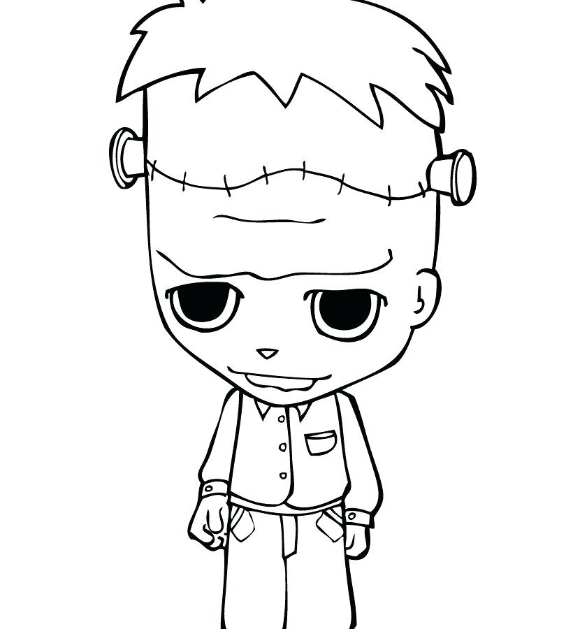 820x900 Complete Scary Coloring Pages New Wonderful Astounding Creepy Best