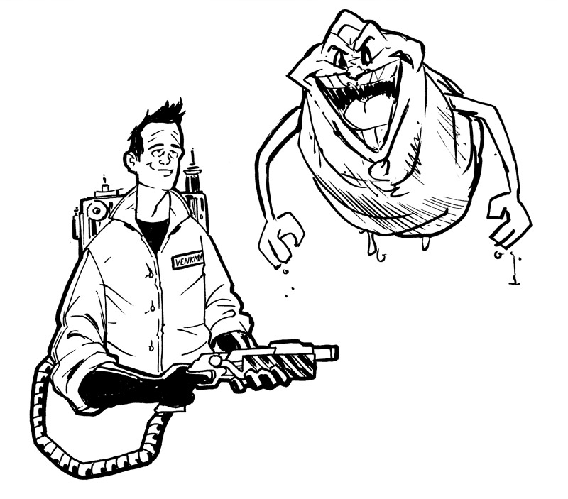Ghostbusters Drawing at GetDrawings | Free download