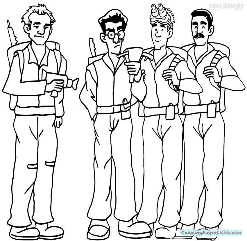 850x829 Ghostbusters Valentines Coloring Pages Coloring Pages For Kids