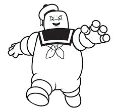 226x223 Image Result For Ghostbusters Stay Puft Colouring Page Halloween