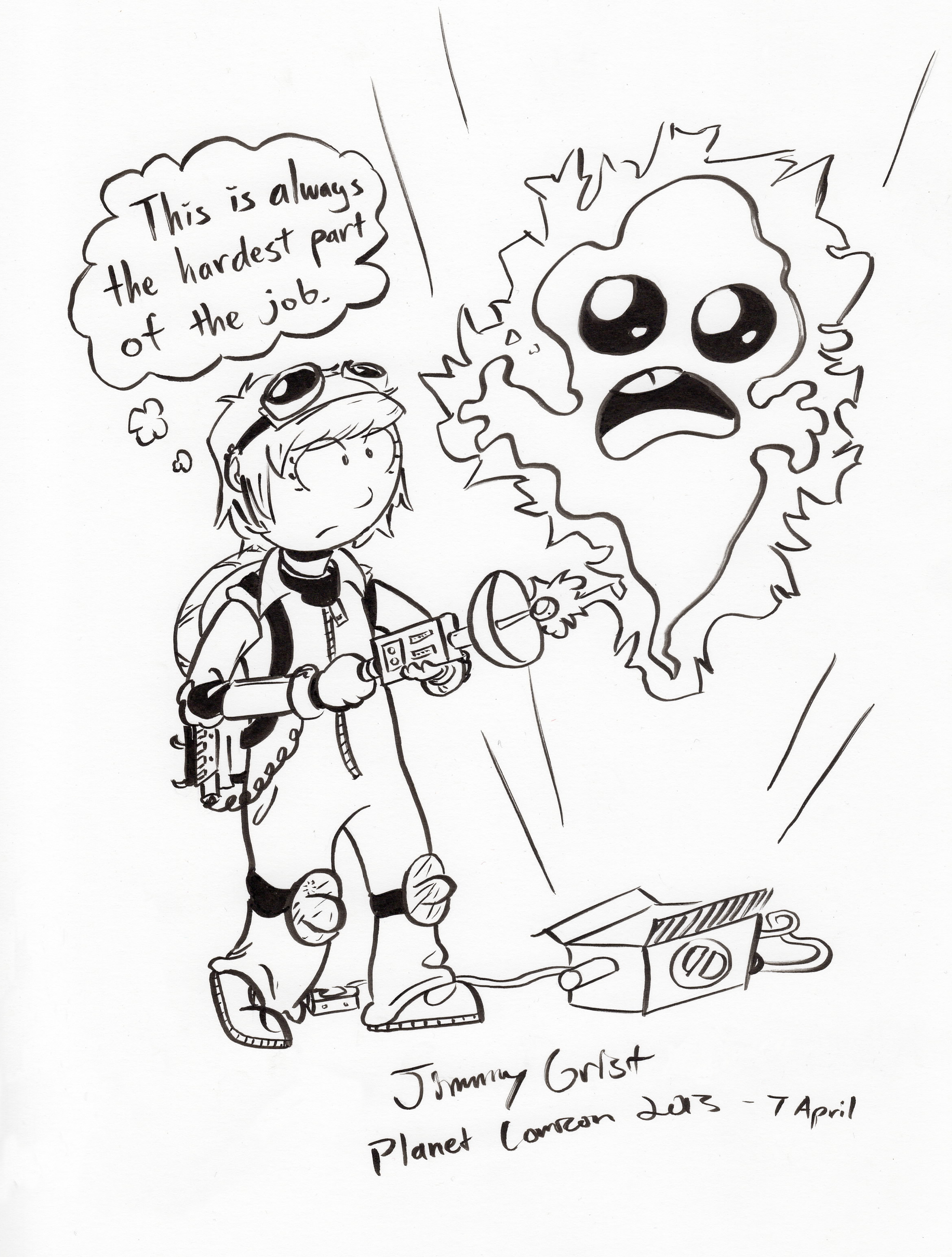 2349x3102 Jimmy Grist Draw Me A Ghostbuster