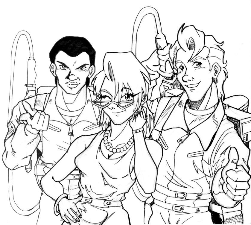 839x752 Real Ghostbusters Fan Art 5 By Irie Mangastudios