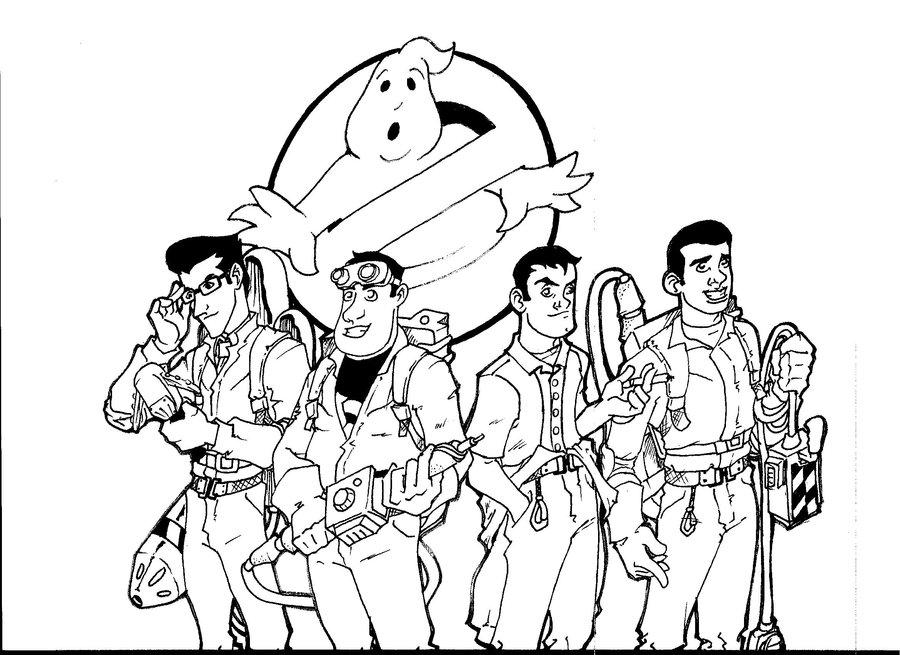 900x655 Ghostbusters By Loupz28