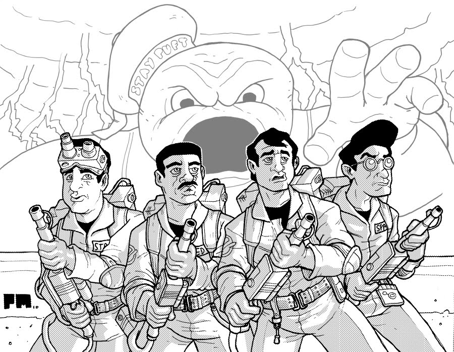 900x698 Ghostbusters