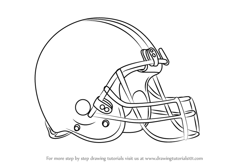 800x566 Step By Step How To Draw Cleveland Browns Logo