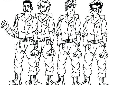 440x330 Unique Ghostbusters Coloring Pages For Logo Coloring Pages 96