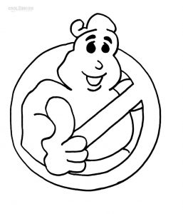 257x300 Free Printable Ghostbusters Coloring Pages Cartoons Logo 2 Stock