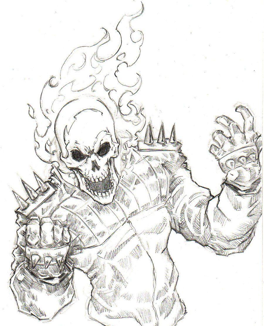 900x1111 Ghost Rider By Chris Oz Fulton Tattoos Fulton