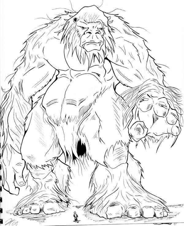 600x738 Giant Monster By Gfan2332