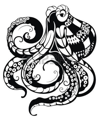 387x450 573 Giant Squid Stock Illustrations, Cliparts And Royalty Free