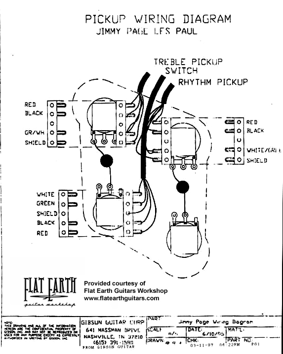 Stock Les Paul Wiring Diagram