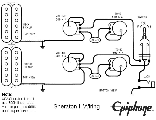 Lyon Guitar Wiring Diagrams