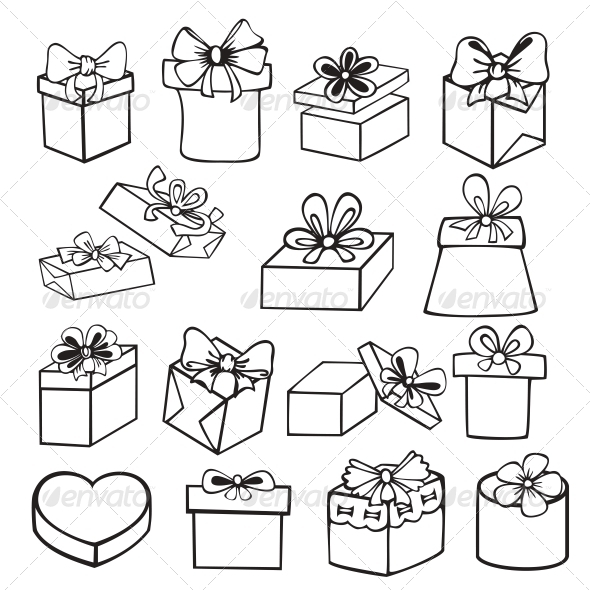 590x590 Set Of Gift Boxes Best Design Gift Boxes, White
