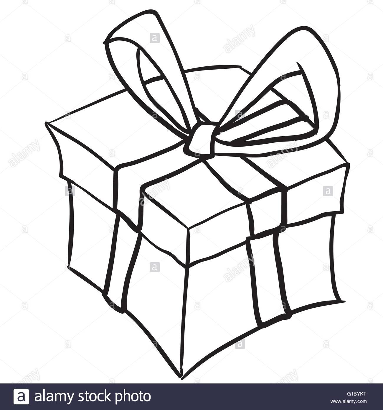 Gift Boxes Drawing At GetDrawings