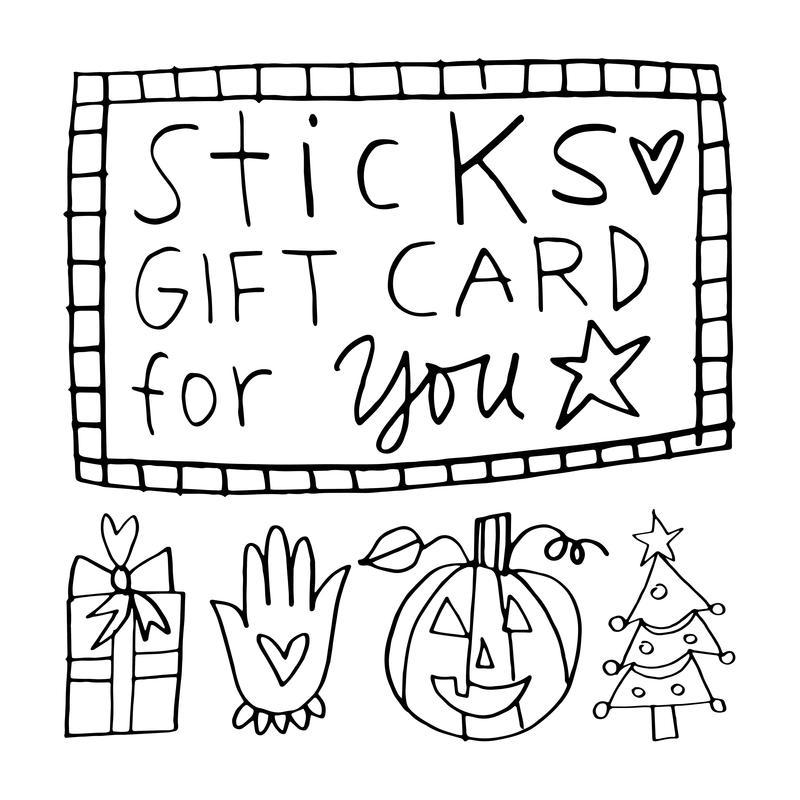800x800 Gift Cards Sticks