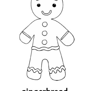 Ginger Bread Man Drawing at GetDrawingscom Free for personal use