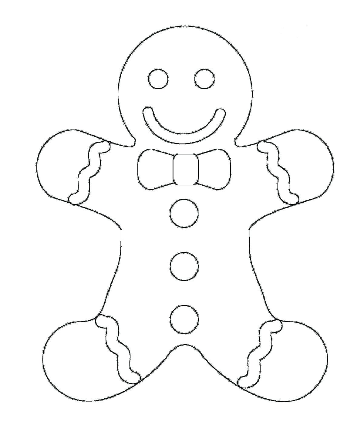 1200x1424 Download And Print Gingerbread Man House Coloring Pages Sheets