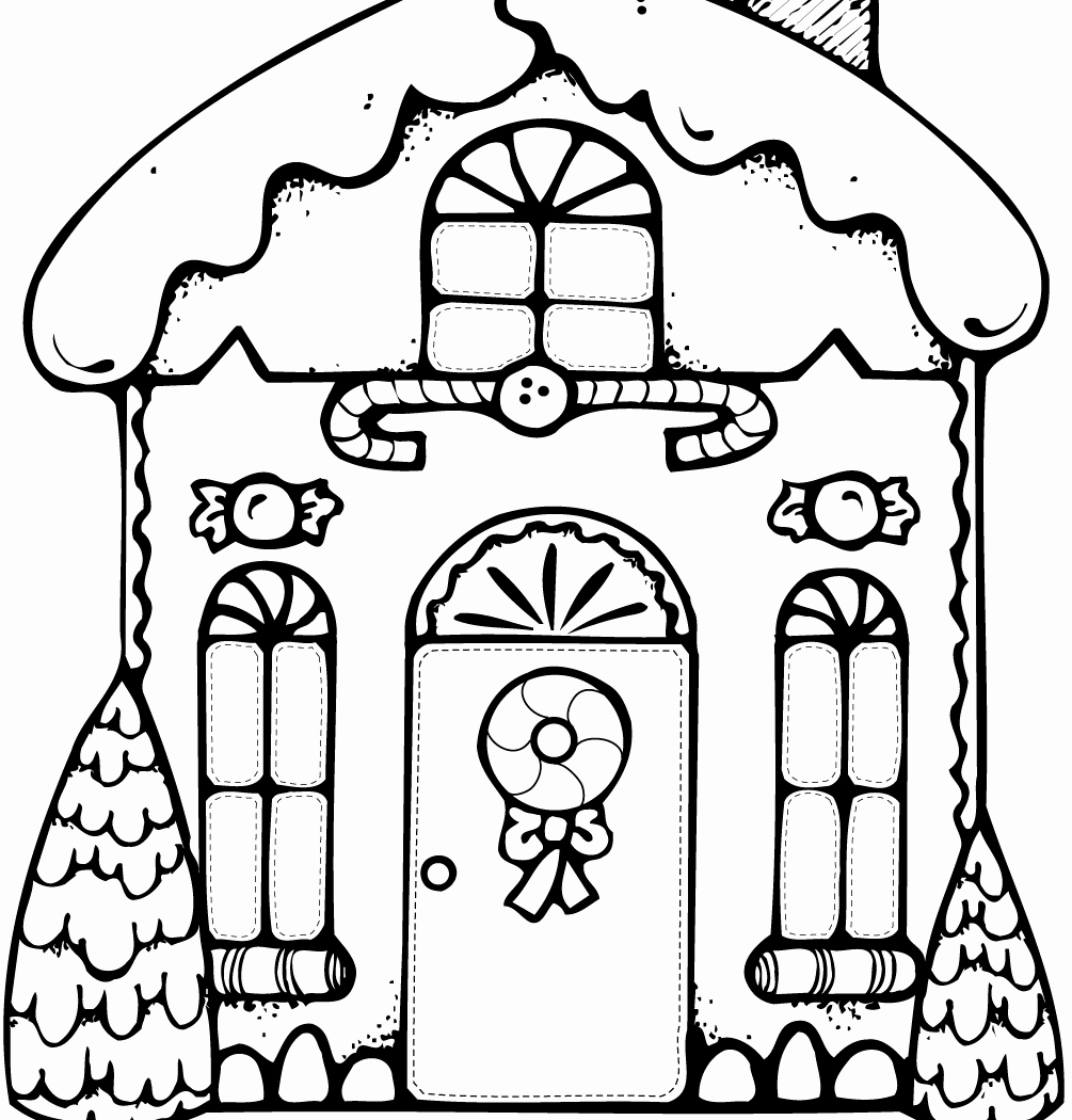 1005x1050 50 New Image Of Gingerbread Coloring Pages