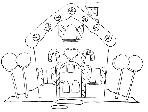500x378 Gingerbread House Gingerbread, Embroidery And Apron