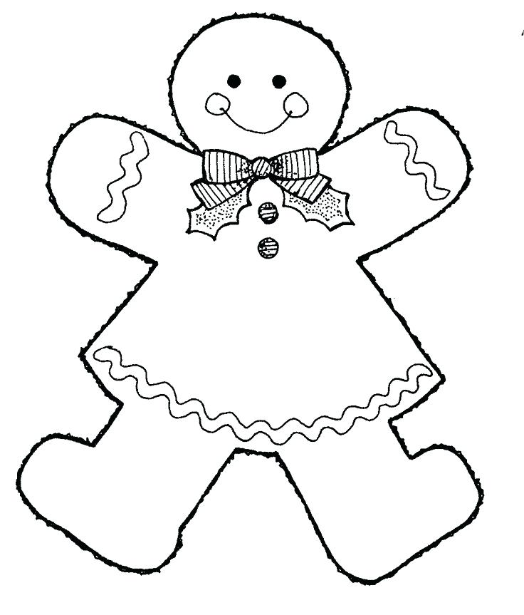 736x863 Gingerbread Coloring Page Gingerbread Man Coloring Page This Black
