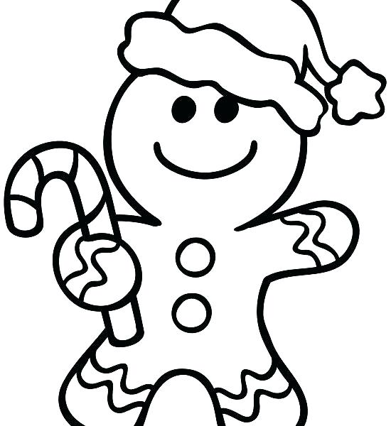 550x600 Awesome Gingerbread Man Coloring Pages Image Best Ideas About